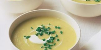 Soupe de poireaux et pommes de terre pas chere
