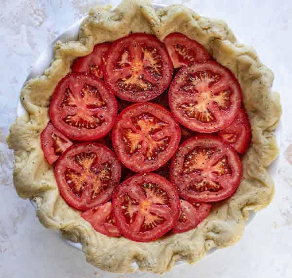 Tarte à la tomate 1