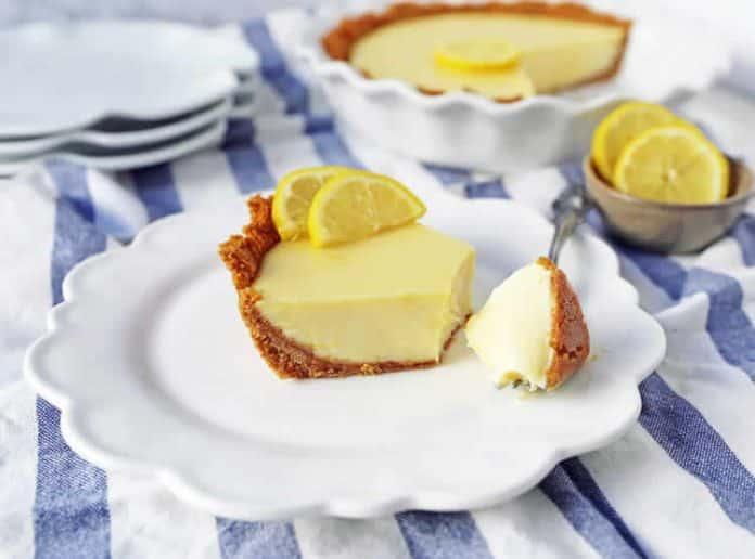 Tarte au citron facile à la maison