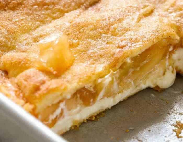 Tarte aux pommes au fromage à la crème 1