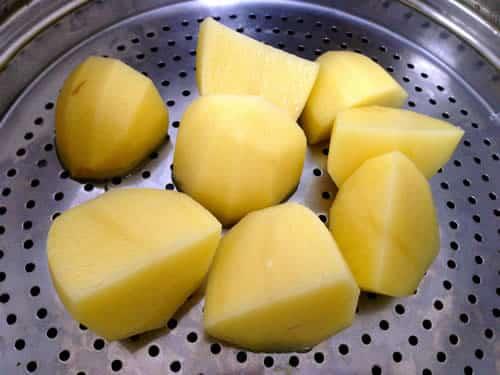 Temps de cuisson des pommes de terre au cookeo 1