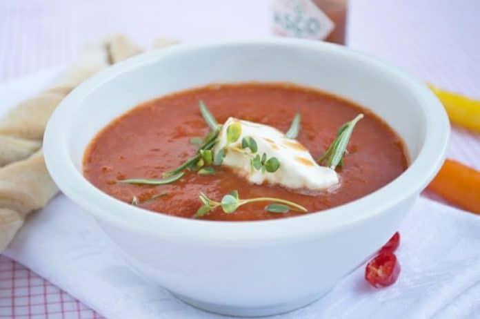 Velouté de tomates facile au thermomix