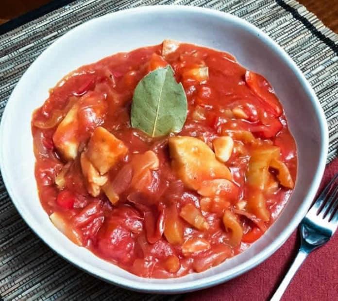 Cabillaud à la sauce tomate au cookeo