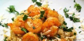 Crevettes au quinoa au cookeo