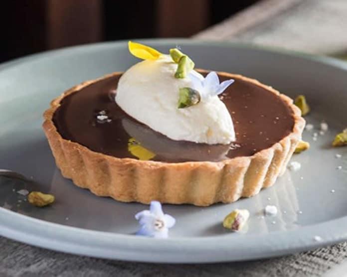 Mini-tartelettes au chocolat et crème