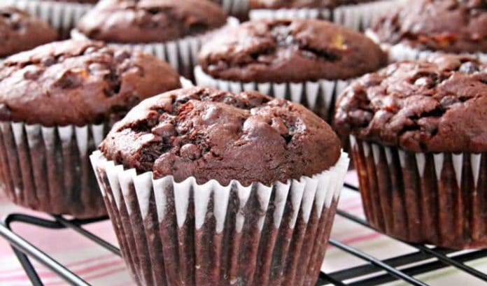 Muffins au chocolat et banane au thermomix