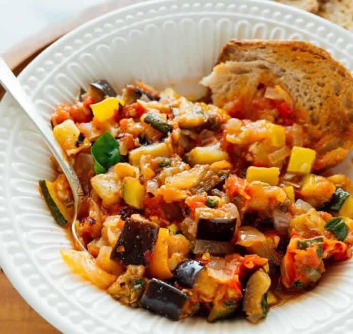 Ratatouille la meilleure recette au cookeo