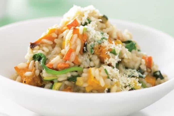 Risotto aux légumes facile au cookeo