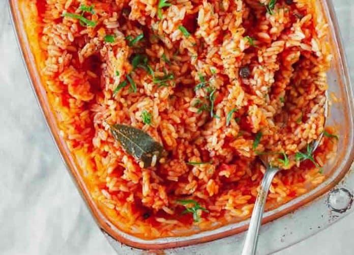 Riz à la sauce tomate au cookeo