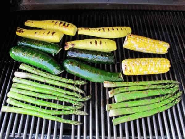 Salade de légumes grillés à la vinaigrette 1