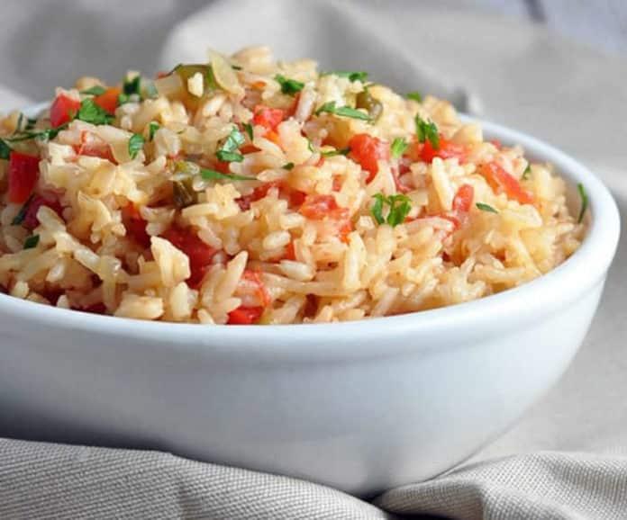Salade espagnole au riz