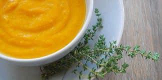 Soupe potiron chou-fleur au cookeo