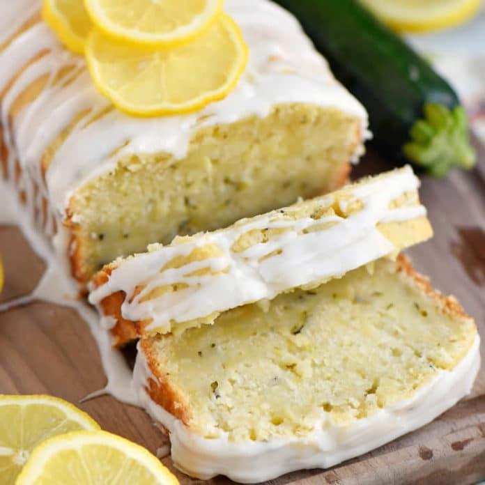Cake moelleux aux courgette et citron