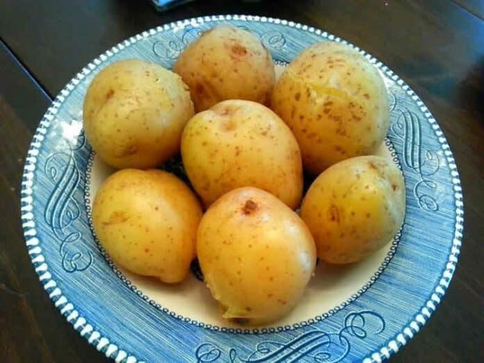 Cuisson pomme de terre vapeur au cookeo