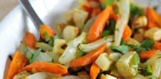 Légumes sautés au four