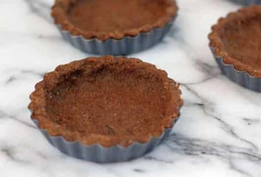 Mini tartes au chocolat et amande 1