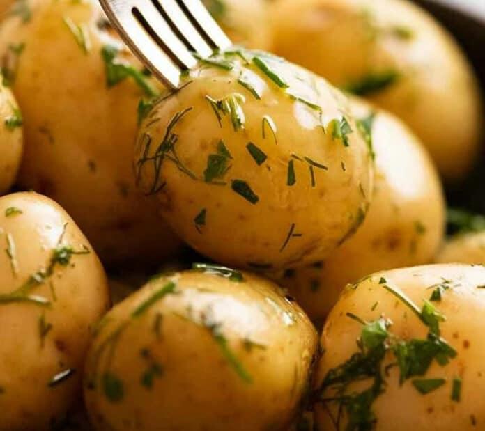 Pommes de terre - Recette entrée