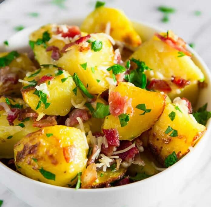 Pommes de terre aux herbes au cookeo