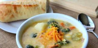 Soupe crémeuse aux légumes