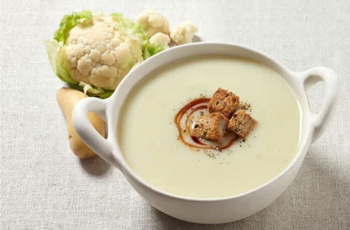 Soupe de chou-fleur à la crème au thermomix