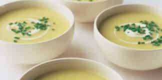 Soupe de poireaux et pommes de terre au thermomix