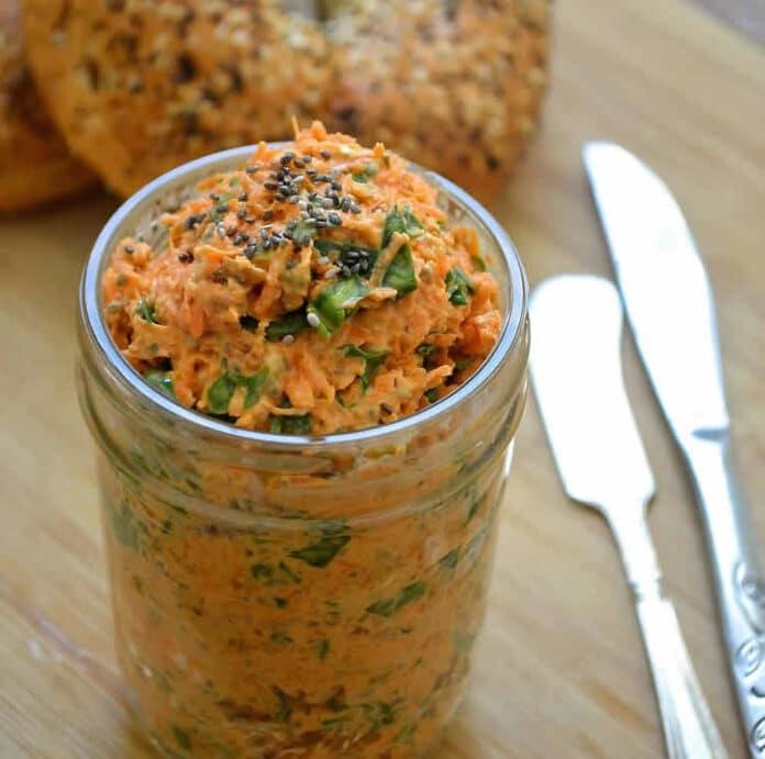 Tartinade aux épinards aux carottes