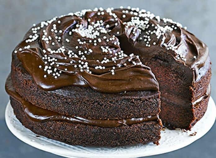 Cake au chocolat et avocat