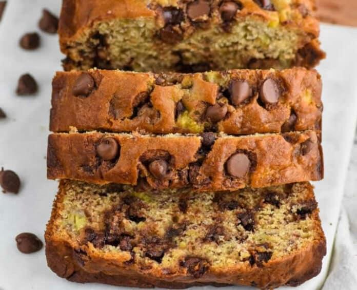 Cake banane et chocolat au thermomix
