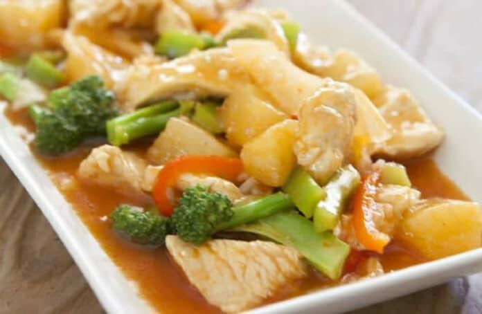 Escalopes de poulet aux légumes au cookeo