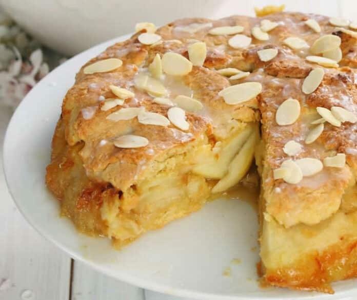 Gâteau aux pommes et amandes au thermomix