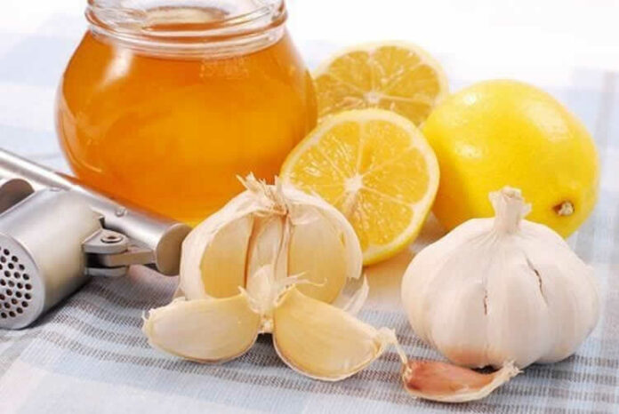 Miel au citron et ail