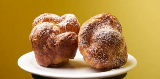 Petite brioche muffin