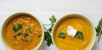 Soupe aux lentilles et carottes au cookeo