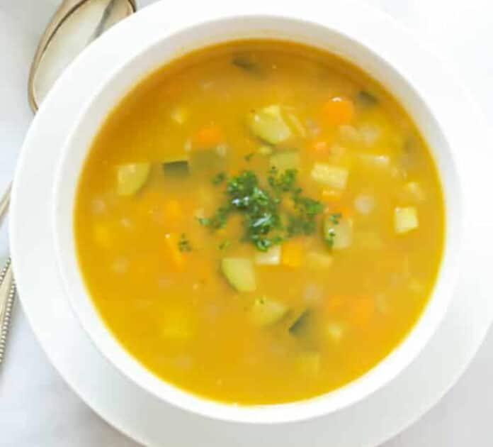 Soupe de courgettes et carottes au thermomix