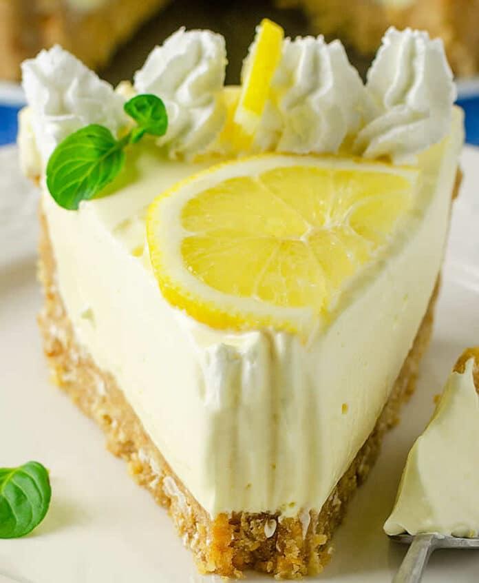 Tarte citron sans cuisson