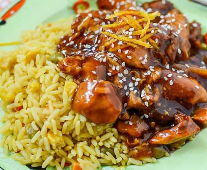 Poitrines de poulet à la sauce soja au cookeo