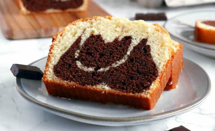 Cake au yaourt et chocolat