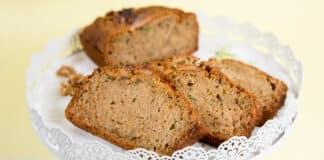 Cake aux courgettes et noix