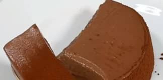 Gâteau à la mousse chocolat