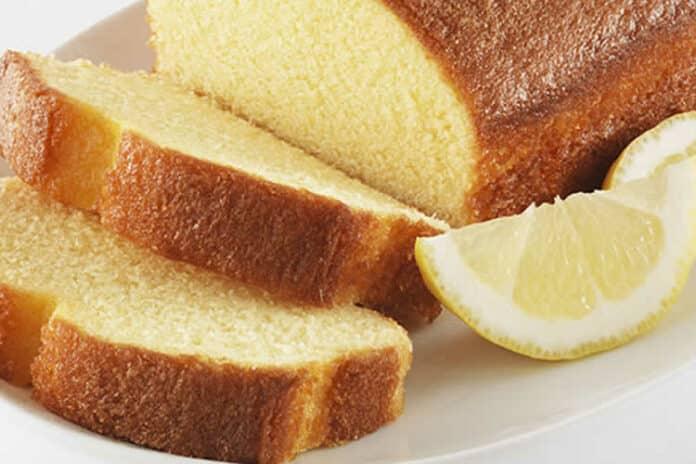 Quatre-quarts au citron facile