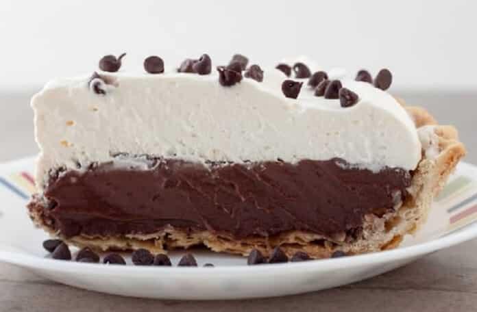 Tarte chocolat à la crème fouettée