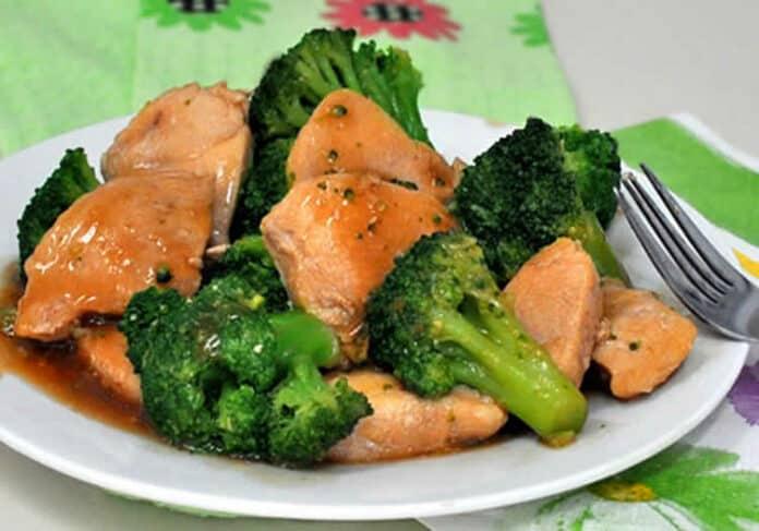 Blanc de poulet au brocoli au cookeo