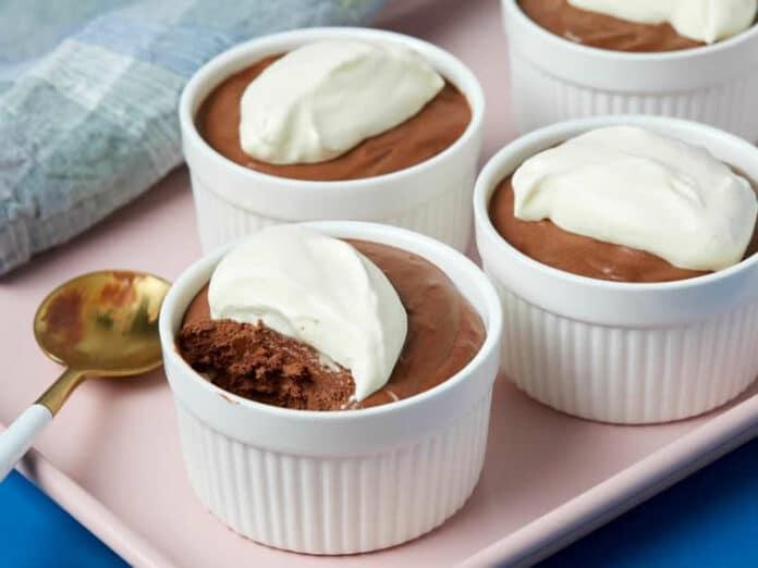 Crème au chocolat douce