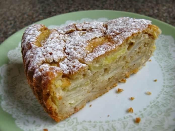 Gâteau aux poires et pommes
