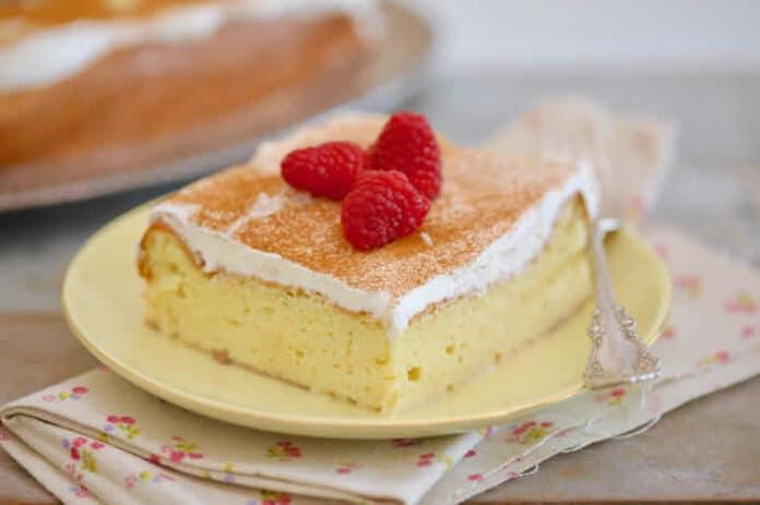 Gâteau moelleux facile au lait