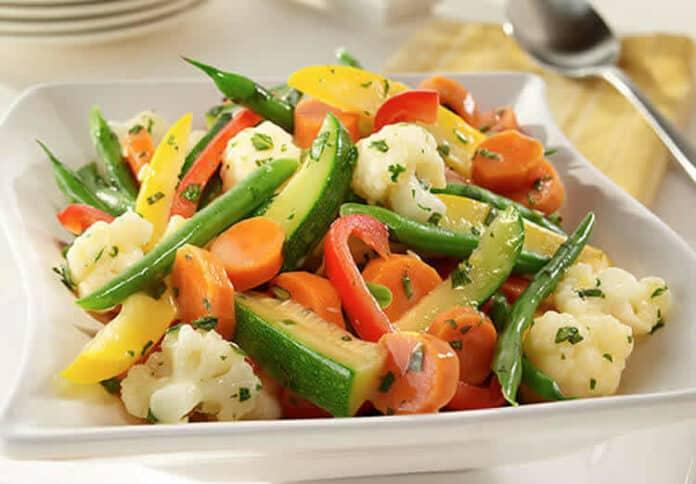 Légumes cuisson vapeur au cookeo