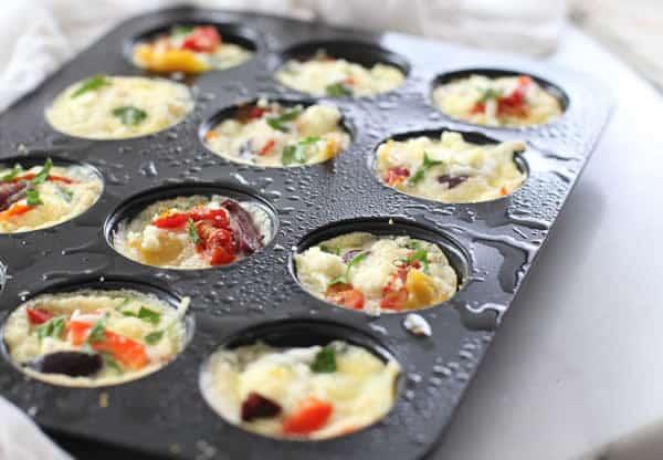 Muffins aux oeufs et au fromage 1