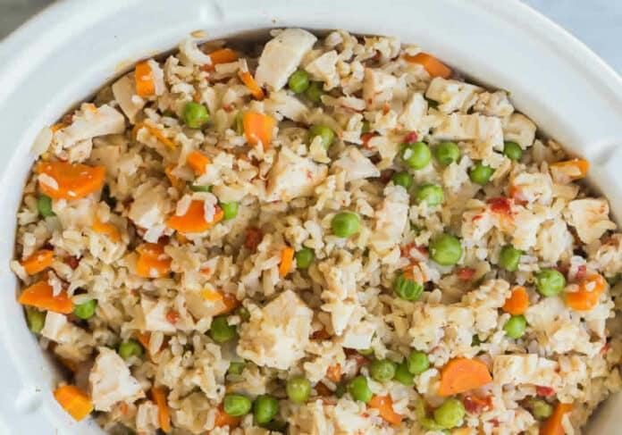 Poulet riz carottes au cookeo