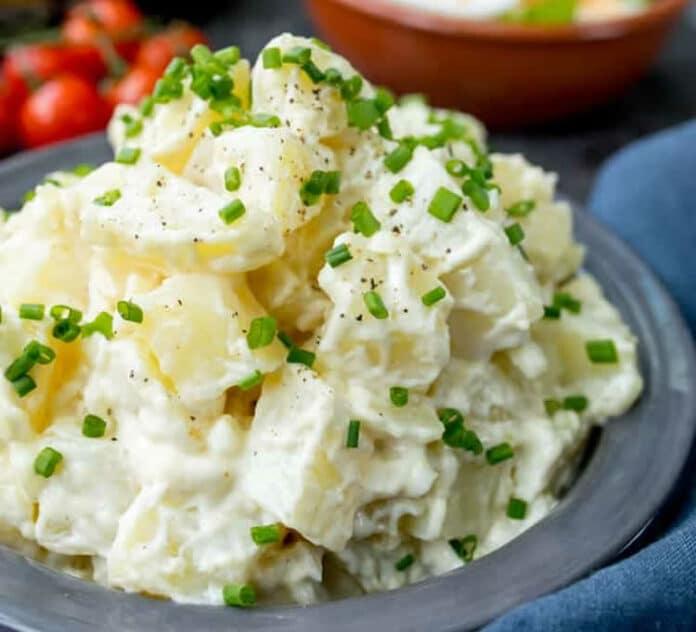 Salade pommes de terre au cookeo