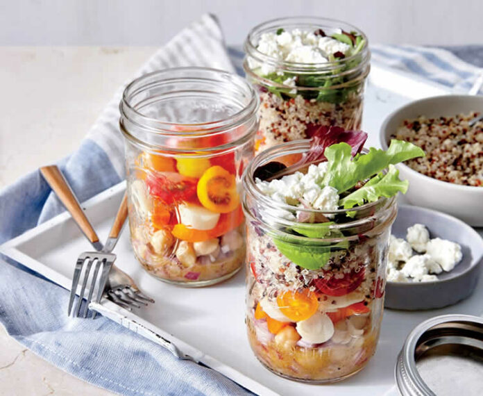Salade verrines W Watchers